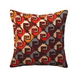 Perulainen ornamentti -tyyny