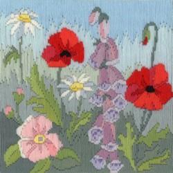 Kukkaketo-pitkäpistotyö