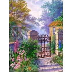 Portti puutarhaan...