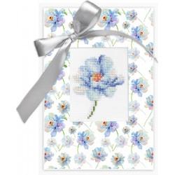 Sininen kukka -kortti sp-57