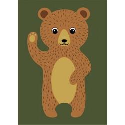 Karhu-maalaa numeroiden...
