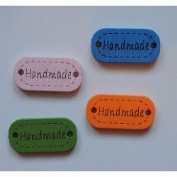 HANDMADE -puinen merkki
