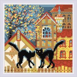 Kaupunki ja kissat syksyllä...