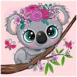 Pieni Koala -timanttimaalaus